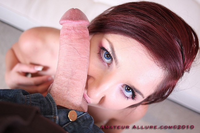 Lexi Brooks Sucking Cock
